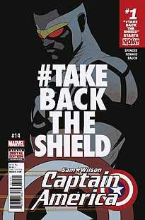 CAPTAIN AMERICA SAM WILSON #14 NOW