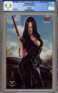 CGC WONDERLAND #47 (9.9) KINGS COMICS COSPLAY EDITION