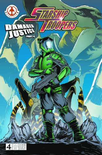 STARSHIP TROOPERS DAMAGED JUSTICE #4 C