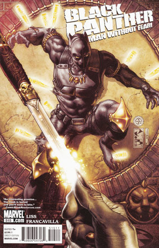 BLACK PANTHER MAN WITHOUT FEAR #515