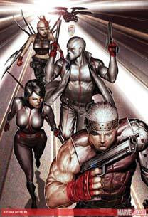 X-FORCE VOL 4 #1 ANMN