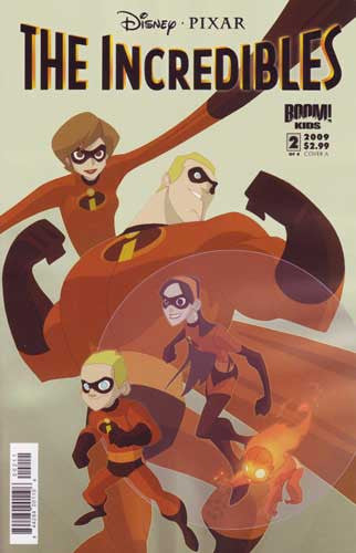 INCREDIBLES FAMILY MATTERS #2