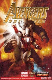 AVENGERS ASSEMBLE #14AU IRON MAN MANY ARMORS VAR NOW - Kings Comics