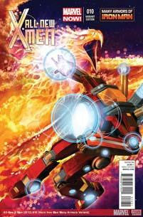 ALL NEW X-MEN #10 HORN IRON MAN MANY ARMORS VAR NOW