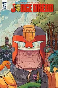 JUDGE DREDD VOL 5 #5