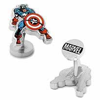 CAPTAIN AMERICA ACTION CUFFLINKS - Kings Comics