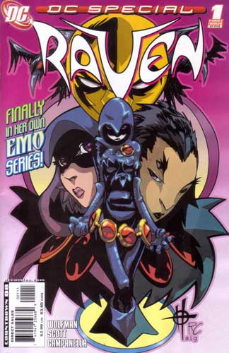 DC SPECIAL RAVEN #1
