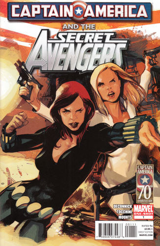 CAPTAIN AMERICA AND SECRET AVENGERS #1 - Kings Comics