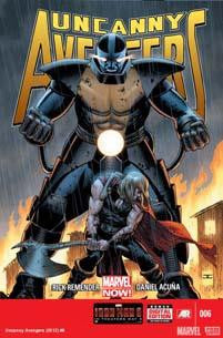 UNCANNY AVENGERS #6 NOW