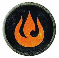 LEGEND KORRA PATCH FIRE