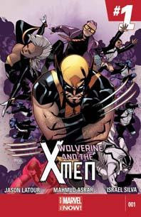 WOLVERINE AND X-MEN VOL 2 #1 ANMN