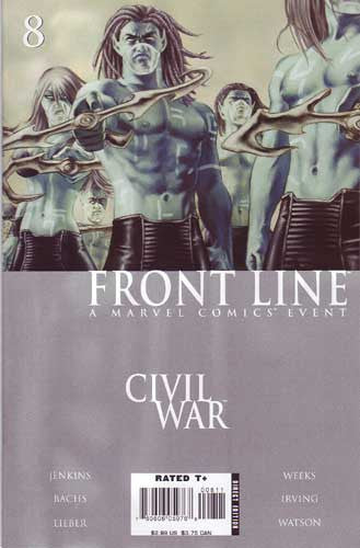 CIVIL WAR FRONT LINE #8