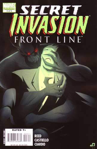 SECRET INVASION FRONT LINE #3 SI