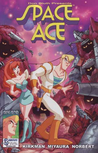 DON BLUTH SPACE ACE #3