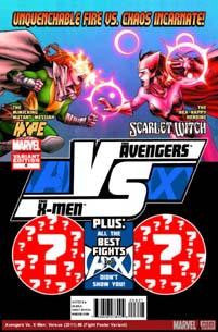 AVX VS #6 IMMONEN FIGHT POSTER VAR