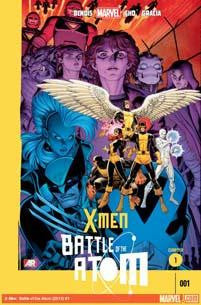 X-MEN BATTLE OF ATOM #1