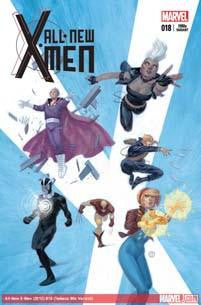 ALL NEW X-MEN #18 TEDESCO 80S VAR