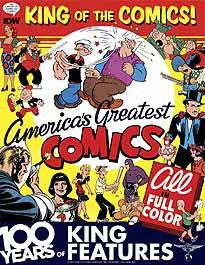 KING OF COMICS HC 100 YEARS KING FEATURES SYNDICATE