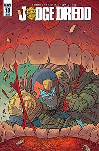 JUDGE DREDD VOL 5 #10