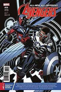 ALL NEW ALL DIFFERENT AVENGERS #14 PRSTE CNCR AWARE VAR