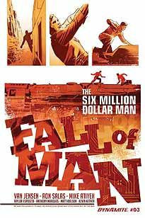 SIX MILLION DOLLAR MAN FALL #3
