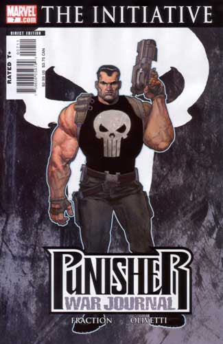 PUNISHER WAR JOURNAL VOL 2 #7 CWI