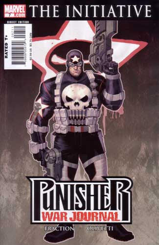 PUNISHER WAR JOURNAL CORRECTED COL #7
