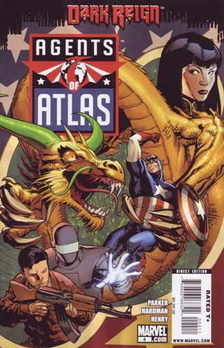AGENTS OF ATLAS VOL 2 #4 DKR