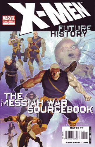 X-MEN FUTURE HISTORY MESSIAH WAR SOURCEBOOK