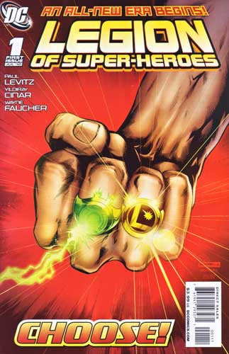 LEGION OF SUPER HEROES VOL 6 #1