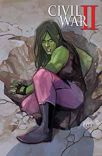 CIVIL WAR II #1 NOTO SHE-HULK VAR