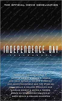 INDEPENDENCE DAY RESURGENCE OFFICIAL NOVELIZATION MMPB