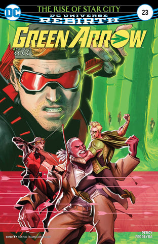 GREEN ARROW VOL 7 #23
