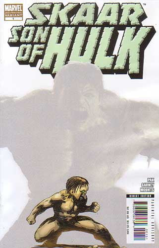 SKAAR SON OF HULK #1 2ND PTG MOVIE VAR