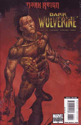 DARK WOLVERINE #76 YOUNG GUNS CHOI AND OBACK VAR - Kings Comics