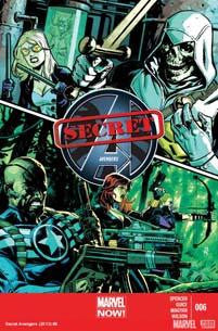 SECRET AVENGERS VOL 2 #6 NOW