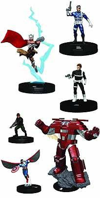 MARVEL HEROCLIX NICK FURY AGENT SHIELD DICE & TOKEN PK