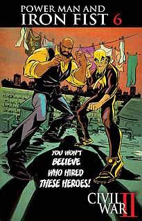 POWER MAN AND IRON FIST VOL 3 #6 CW2