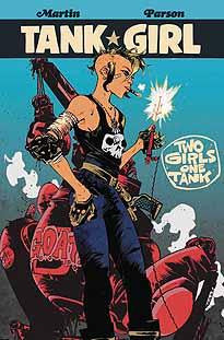 TANK GIRL 2 GIRLS 1 TANK #3