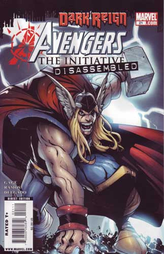 AVENGERS INITIATIVE #21 DKR - Kings Comics