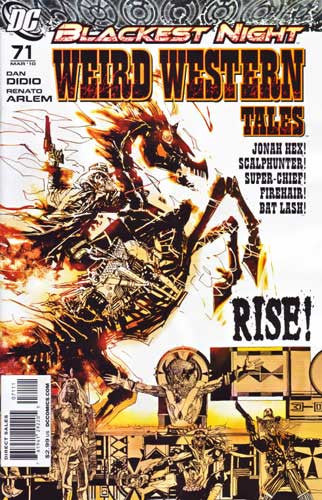 WEIRD WESTERN TALES #71 (BLACKEST NIGHT)