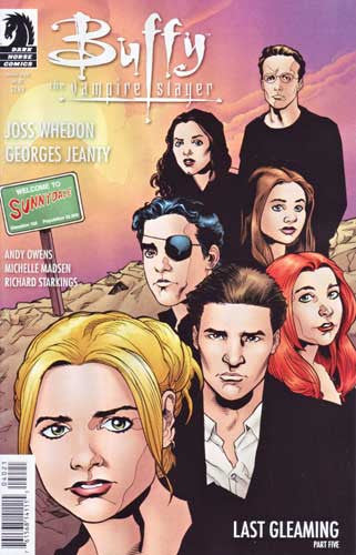 BUFFY VAMPIRE SLAYER VOL 2 #40 LAST GLEAMING PART 5 JEANTY CVR