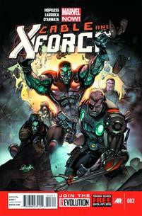 CABLE AND X-FORCE #3 NOW - Kings Comics