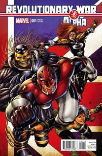 REVOLUTIONARY WAR ALPHA #1 KITSON VAR