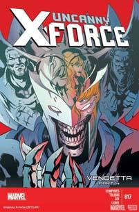 UNCANNY X-FORCE VOL 2 #17 XFV