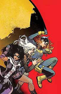 BATGIRL AND THE BIRDS OF PREY #6 VAR ED