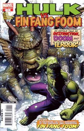 HULK VS FIN FANG FOOM ONE SHOT