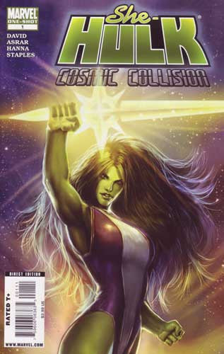 SHE HULK COSMIC COLLISION