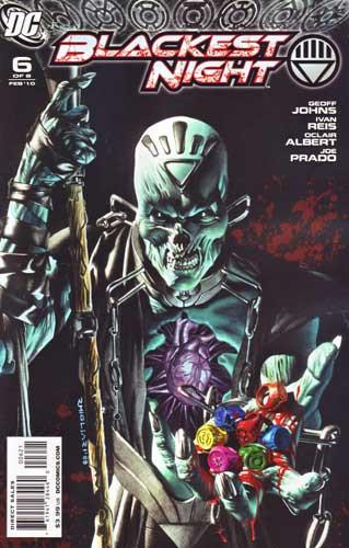 BLACKEST NIGHT #6 VAR ED