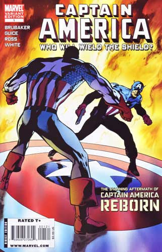 CAPTAIN AMERICA REBORN WHO WILL WIELD SHIELD VAR - Kings Comics